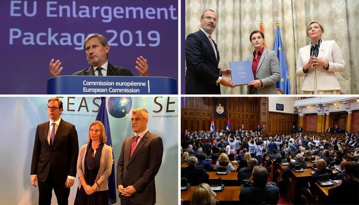 eu komisija kombo foto RAS Goran Srdanov, EPA Olivier Hoslet, Tanjug Dimitrije Goll, Predsednistvo republike srbije
