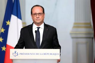 Hollande po zamachach w Paryżu: Francja w stanie wojny