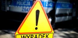 Karambol na S7 pod Kielcami. Zderzyło się 13 samochodów