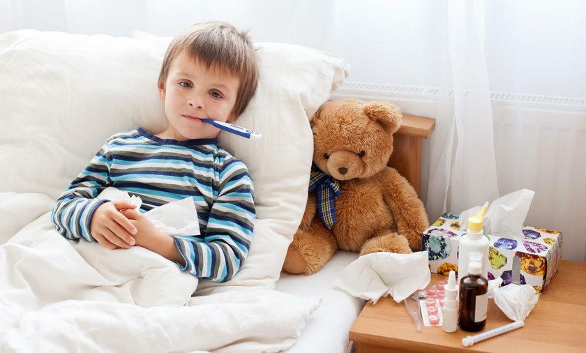 Różyczka groźna dla dzieci. Najwięcej zachorowań jest wśród dzieci w Polsce