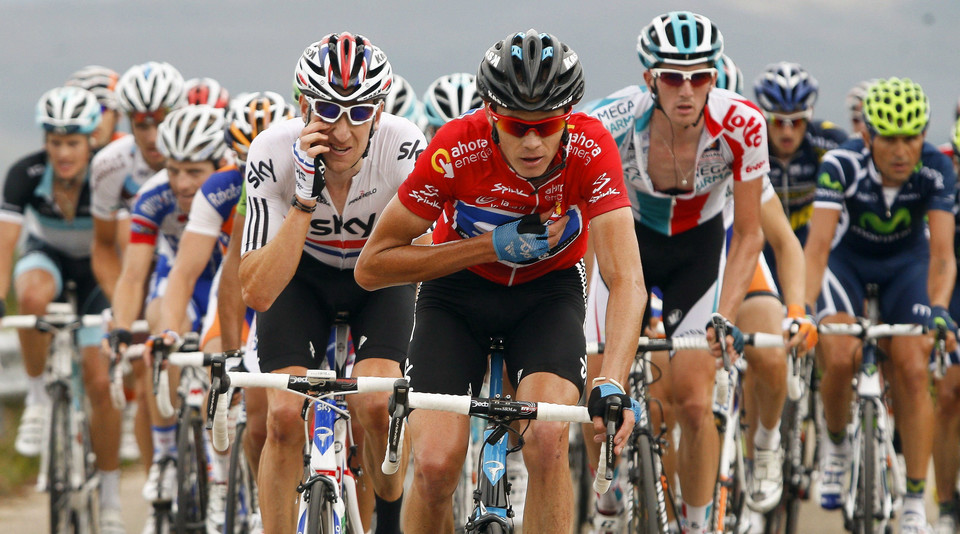 SPAIN CYCLING VUELTA