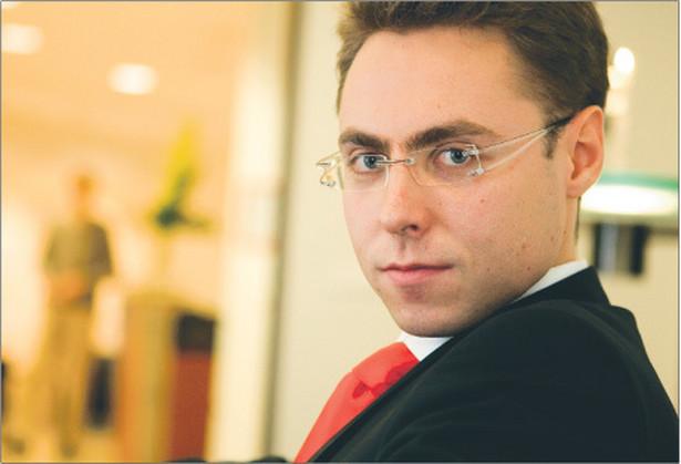 Łukasz Sławatyniec, prawnik w kancelarii CMS Cameron McKenna, wykładowca na Uniwersytecie Warszawskim Fot. Wojciech Górski