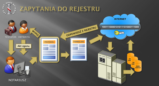 Zapytania do notarialnego rejestru testamentów
