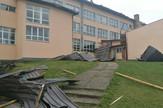 skinut krov u osnovnoj skoli Vlasenica oto r.jokic