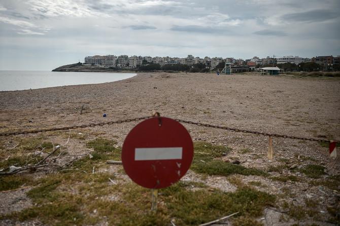 Zatvorene plaže u Grčkoj