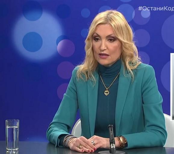 Dr Ivana Milošević, zamenica direktora Klinike za infektivne i tropske bolesti KCS