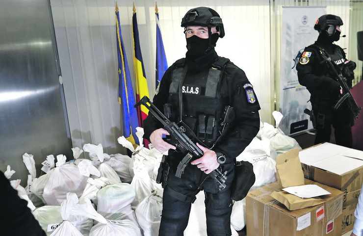 Zaplenjena droga vredna oko 300 miliona evra