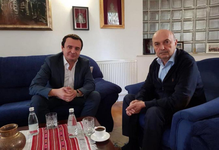 Albin Kurti Isa Mustafa