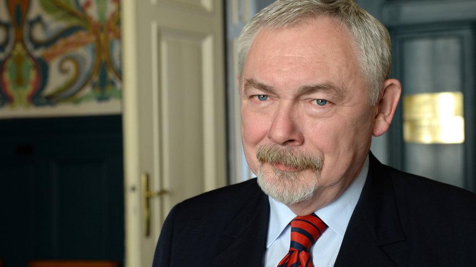 Jacek Majchrowski fot W. Majka/ Urząd Miasta Krakowa
