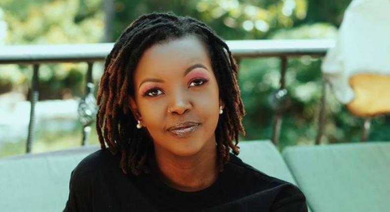 Zia Jepkemei Bett, wife to Kenyan hip-hop musician Nyashinski