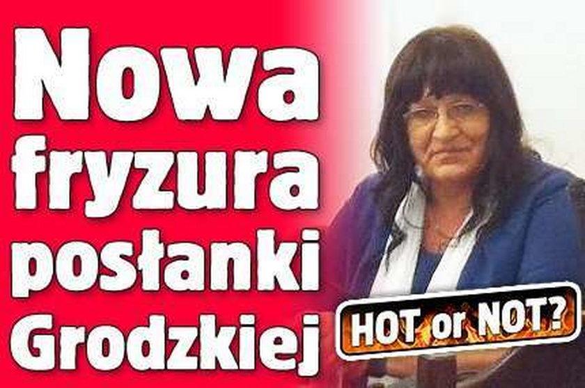 Nowa fryzura posłanki Grodzkiej. Hot or not?