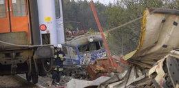 Pociąg zderzył się z ciężarówką. Są ofiary!