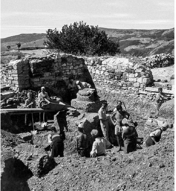 Iiskopavanja na Novom Brdu 1957. godina