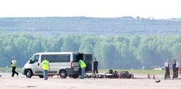 Wypadek awionetki, prokuratura bada czy służby ratunkowe źle działały