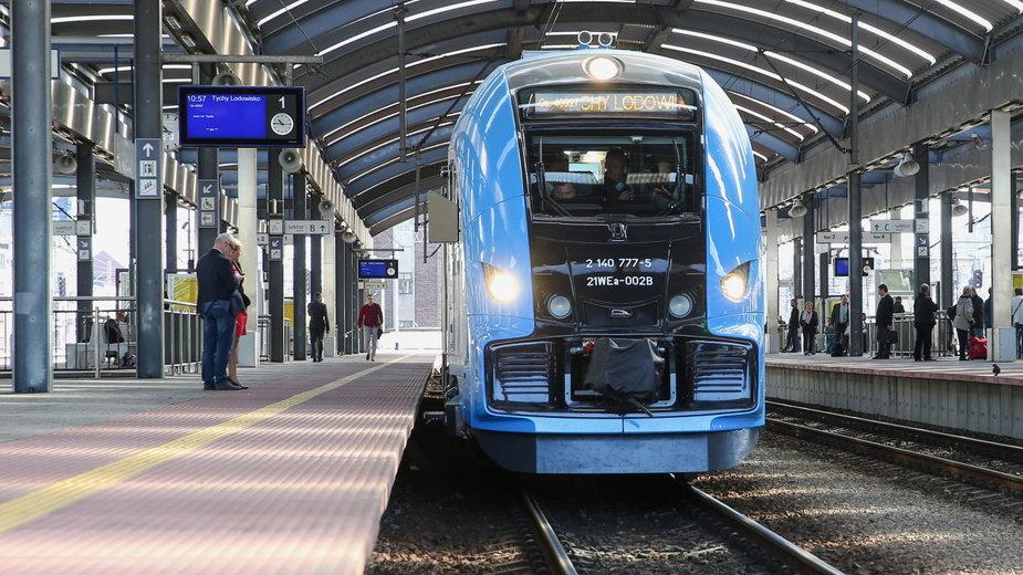 Pociąg ELF 2 Kolei Śląskich