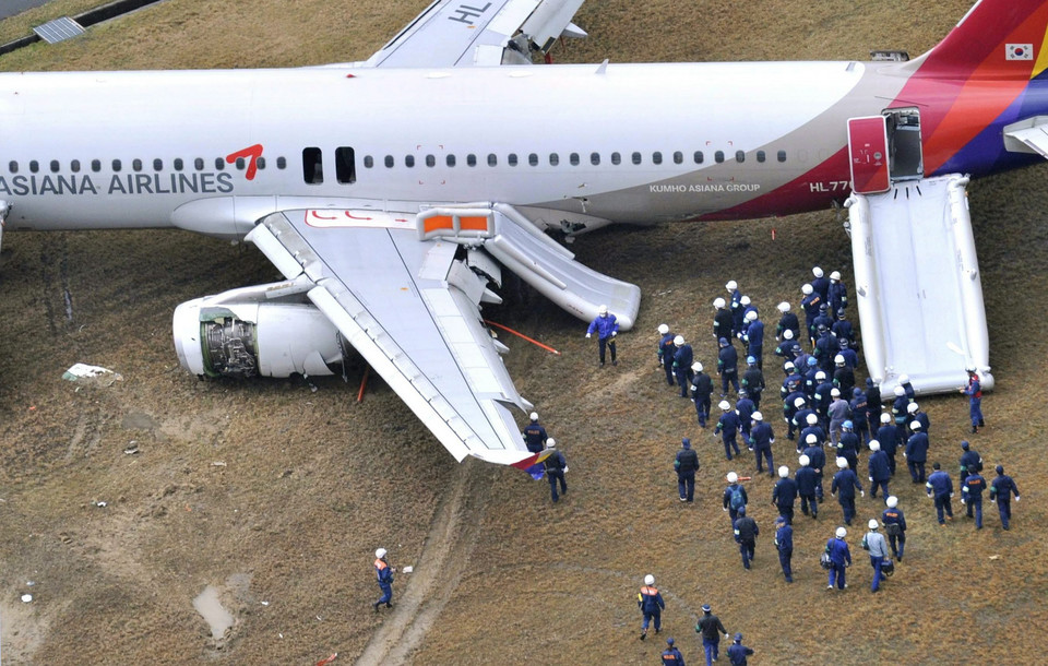 JAPAN ASIANA AIRCRAFT (South Korean investigators sent to Japan after Asiana plane accident)