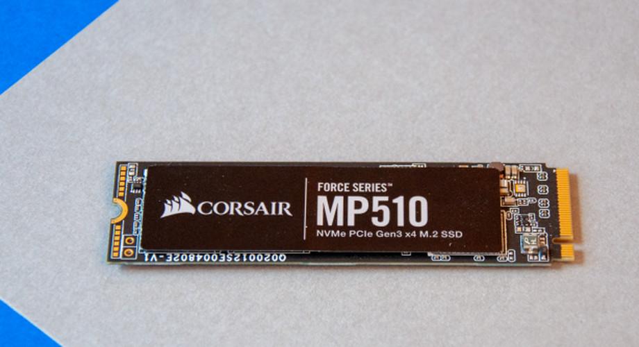 NVMe Corsair Force MP510 (960 GByte) im Test: Flinker Speicher