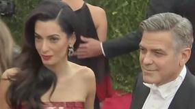 Amal Clooney urodziła! Znamy imiona dzieci