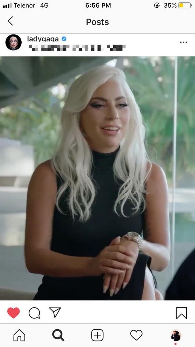 Lejdi Gaga, Dejvid Bekam