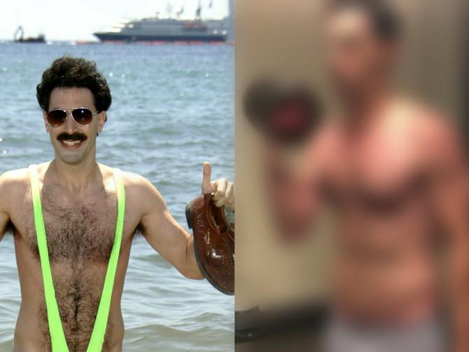 Pamtite ga kao Borata, a danas je ZVER U TERETANI: Njegova žena okačila fotku na Instagram i fanovi NE VERUJU SVOJIM OČIMA