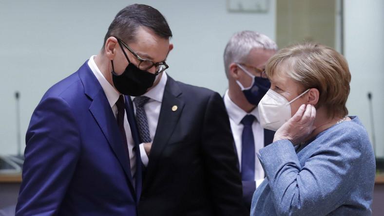 Matusz Morawiecki i Angela Merkel