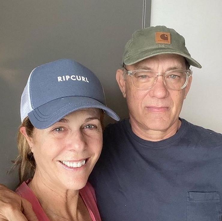 Tom Henks i supruga