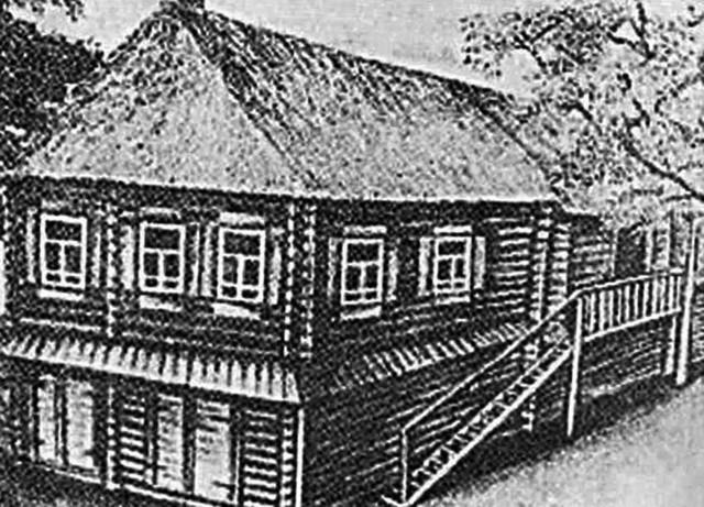 Kuća u Konstantinovu u kojoj je rođen veliki pesnik
