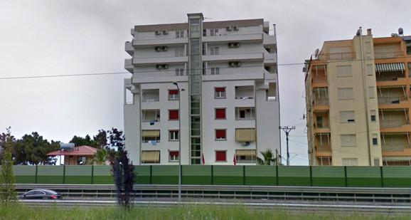 vila palma Drač Albanija foto Screenshot Googlestreetview