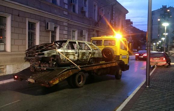 Zapaljena škoda felicija dovodi se u vezu sa ubistvom Čede Đokića