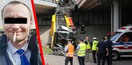 """Dotarliśmy do kolegi kierowcy autobusu, który spadł z wiaduktu. """"Wolał zapalić skręta, niż napić się piwa"""""""