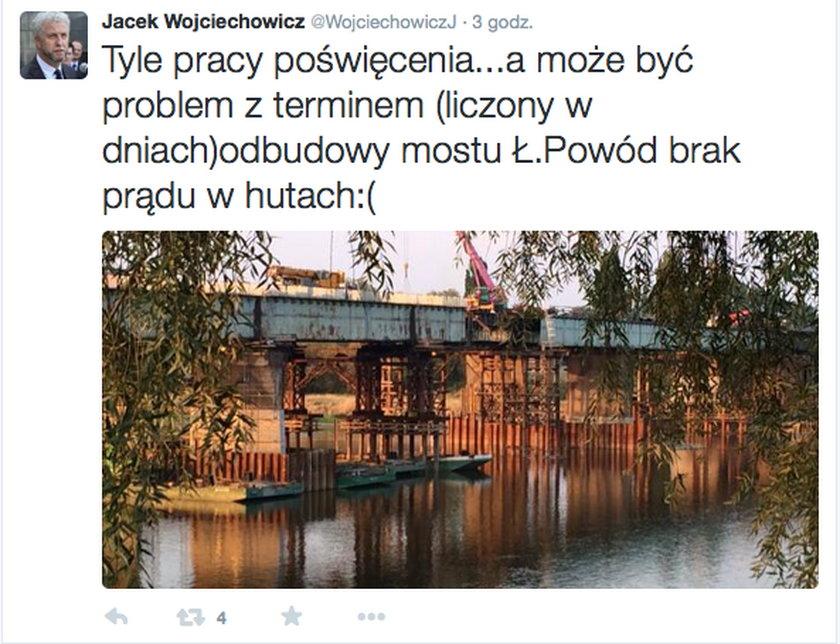 Upały przeszkadzają w remoncie najważniejsze stołecznej przeprawy. Budowa Łazienkowskiego opóźniona?
