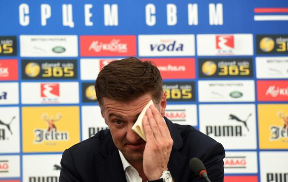 Fudbalska reprezentacija Srbije, Mladen Krstajić