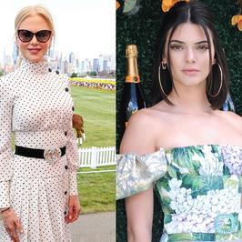 Nicole Kidman i Kendall Jenner w wiosennych stylizacjach na imprezie. Która lepiej?