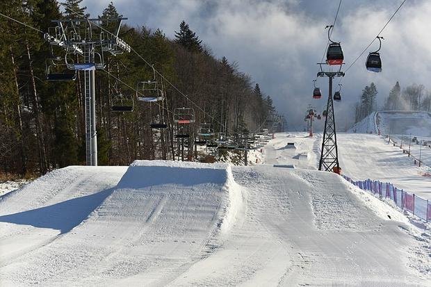 Snowpark na Jaworzynie Krynickiej