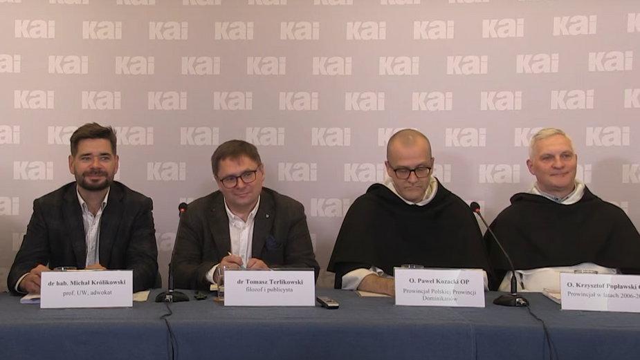 Prezentacja raportu komisji eksperckiej nt. działań dominikanina Pawła M.
