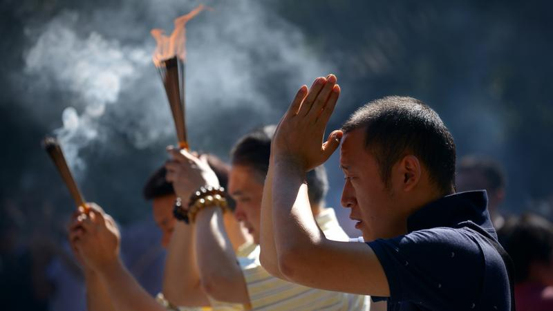 Chińczycy obchodzą Święto Środka Jesieni