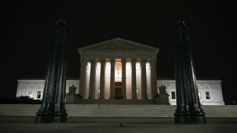 The Supreme Court building in Washington