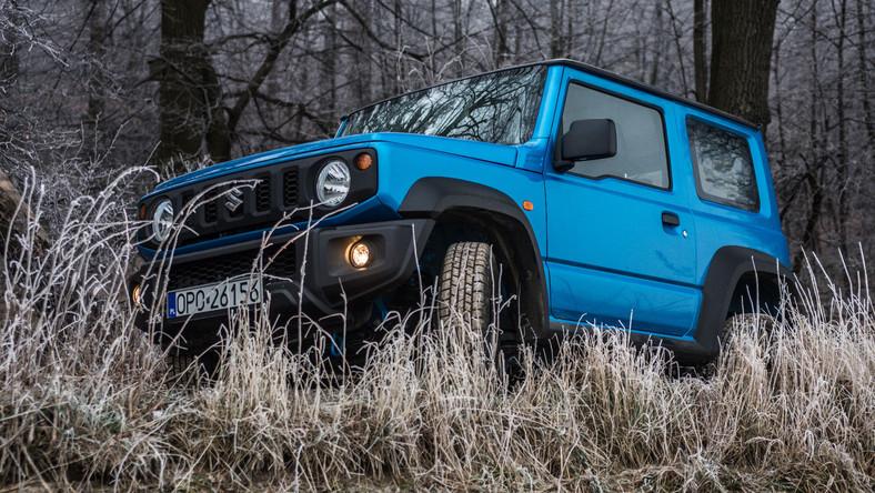 Suzuki Jimny zaskakuje nie tylko talentem w terenie