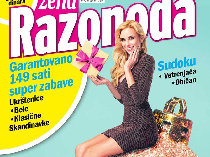 Blic žena Razonoda: Garantovano 149 sati super zabave uz najbolje knjige!
