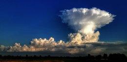 Chmura koło Elbląga wywołała niepokój. Co się stało?