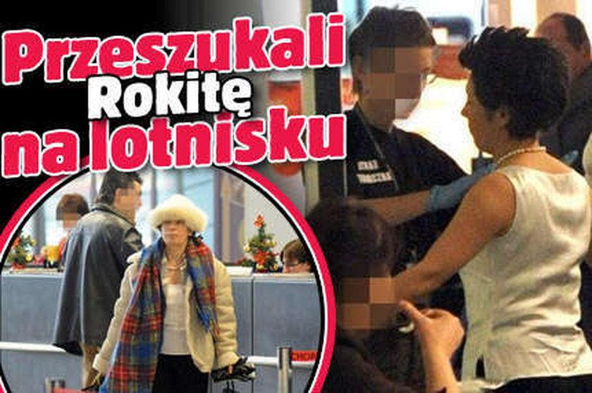 Przeszukali Rokitę na lotnisku! ZOBACZ
