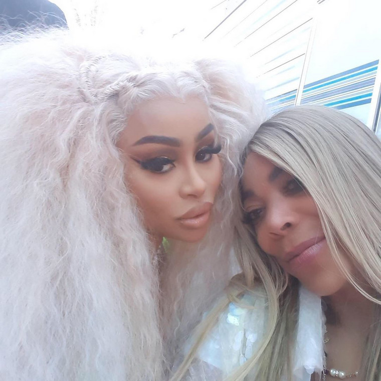 Sources close to TMZ also reports that the two actually met in Los Angeles on Saturday, June 8, 2019, when Wendy was hanging out with Blac Chyna [Instagram/WendyShow]