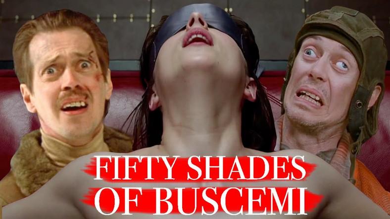 """""""50 Shades of Buscemi"""": Steve Buscemi jest Christianem Greyem"""