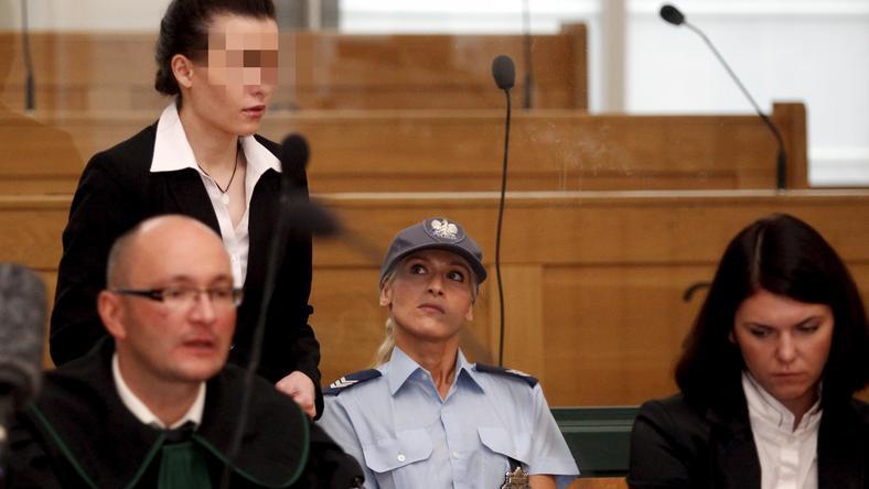 Katarzyna W. zabiera głos przed Sądem Okręgowym w Katowicach