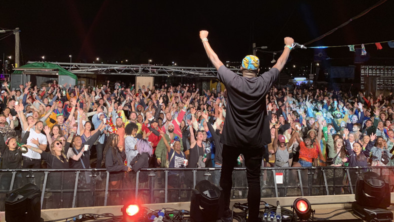 DJ Spinall becomes first Nigerian DJ to perform at the Glastonbury Festival