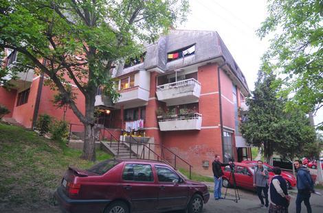 Zgrada u kojoj se dogodio zločin