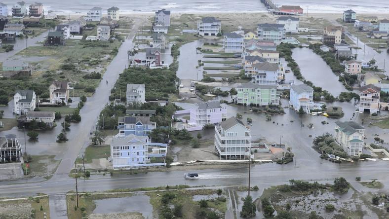 Skutki huraganu w Północnej Karolinie