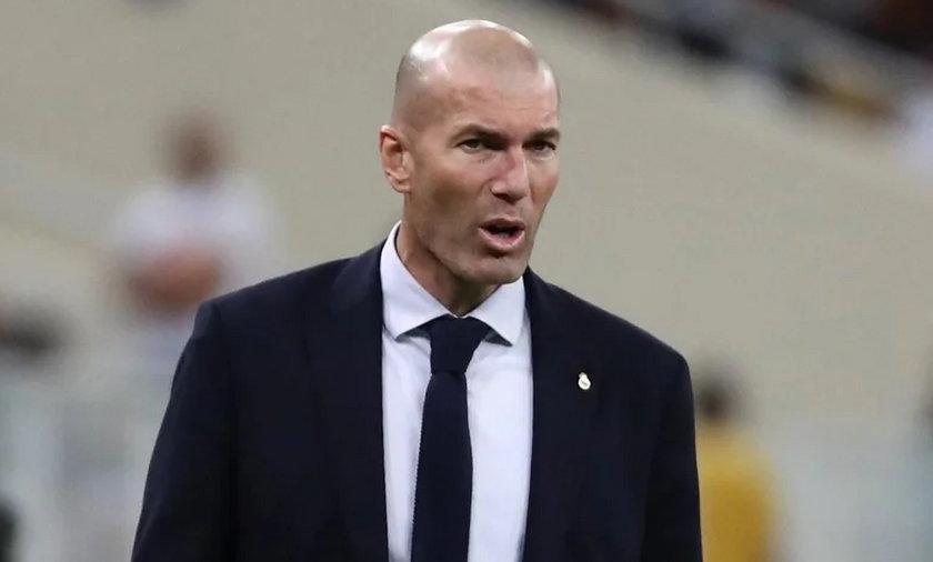 Na zdjęciu Zinedine Zidane