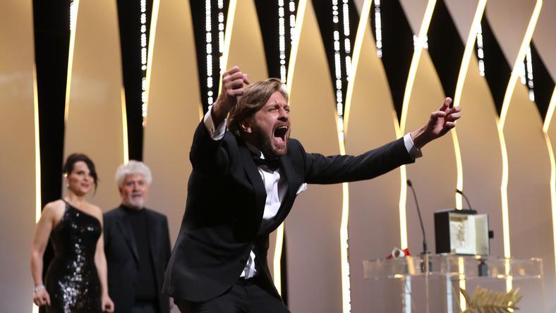 "Ruben Östlund, laureat Złotej Palmy 2017 za film ""The Square"""