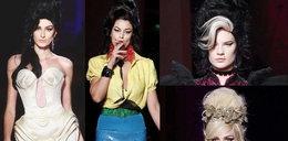 Modelki Gaultiera jak Amy Winehouse